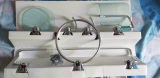 Set Accesorios Para Baño 6 Piezas