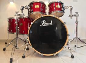 Pearl Session Studio Classic Sequoia Red Impecável