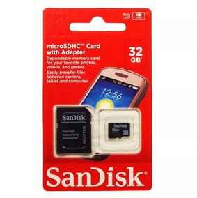 Cartão De Memória Micro 32gb Sandisk 100% Original