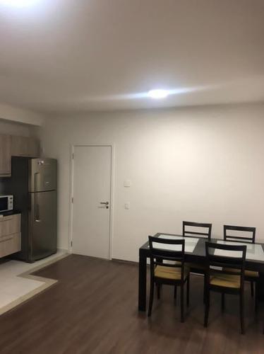 Imagem 1 de 13 de Apartamento Com 1 Dormitório Para Alugar, 50 M² Por R$ 2.800,00/mês - Empresarial 18 Do Forte - Barueri/sp - Ap4756