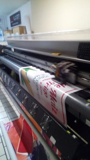 Plotter De Lona 2.5 Metros Impresion Gran Formato Grapthec