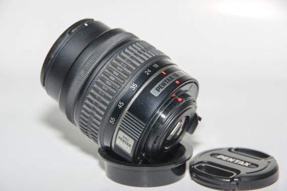 Lente Smc Pentax Dal 18-55mm F: 3.5 - 5.6