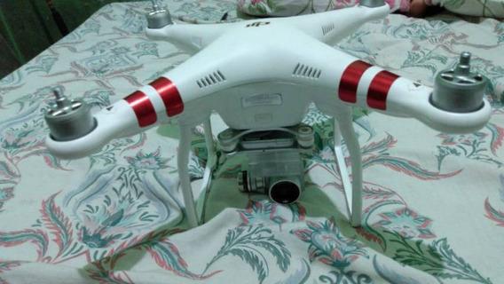 Drone Marca Dji Modelo Phantom 3 Completo De Tudo Usado !