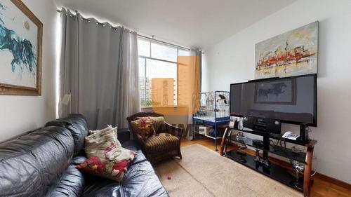 Apartamento Na Santa Cecília 2 Dormitórios, 2 Banheiros Com 89 M2! - Ja15888