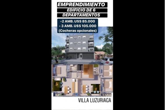 Departamento En Venta En Villa Luzuriaga