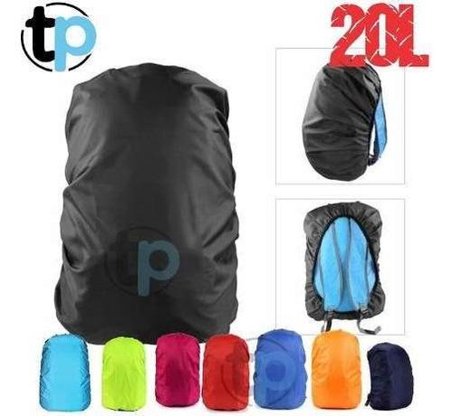 Cubre Mochila Cobertor Protector Para Ideal Lluvia 20l