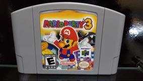 Fita / Cartucho Mario Party 3 Nintendo 64 N64 Salvando