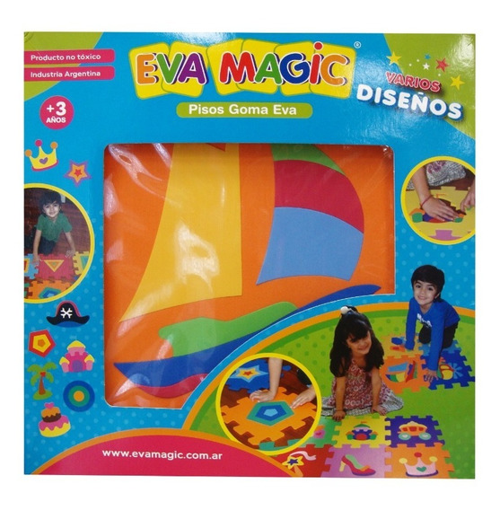 Pisos De Goma Eva Encastrables Eva Magic 50 (1397)