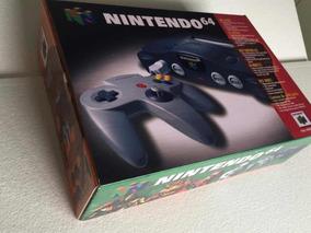 Caixa Nintendo 64 + Berço(somente Caixa Para Reposição)