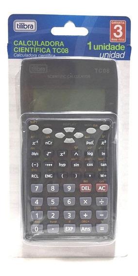 Calculadora Cientifica Tilibra Tc08