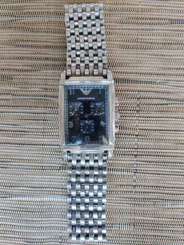 Relógio Empório Armani Ar 0299 Em Aço