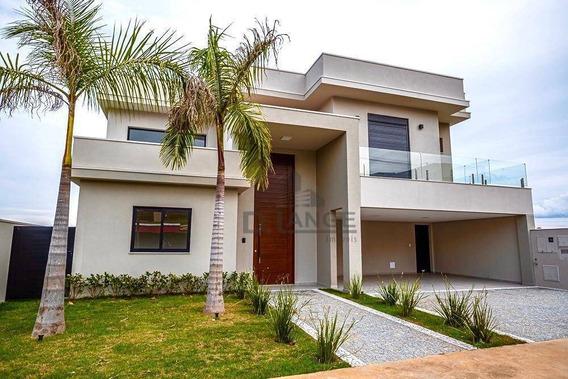 Casa Com 3 Dormitórios À Venda, 304 M² Por R$ 1.695.000,00 - Loteamento Parque Dos Alecrins - Campinas/sp - Ca13535