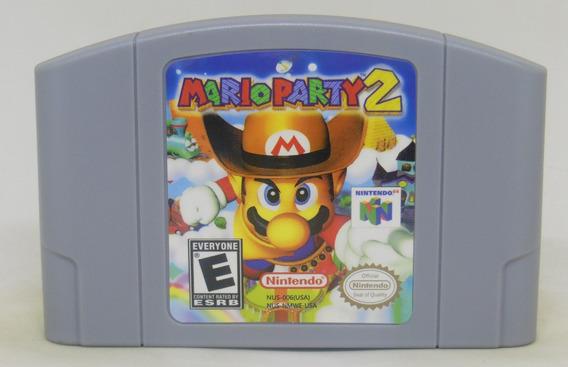 Mario Party 2 N64 Nintendo 64 Novo