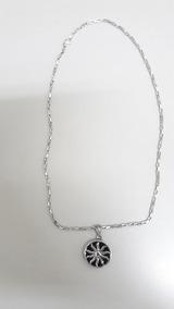 Corrente Em Aço Inox 316l Com Pingente - Semi-nova
