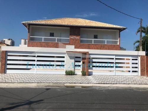 Imagem 1 de 27 de Casa Residencial Em Condominio Fechado Para Venda Na Vila Caiçara, Praia Grande Sp 2 Dormitórios Sendo 1 Suíte, 1 Vaga - Ca00439 - 69503129