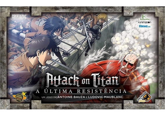 Attack On Titan - A Ultima Resistência