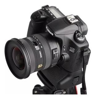 Lente Objetivo Sigma 10 20mm F 3.5 Canon Gran Angular Cuotas