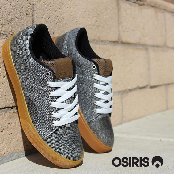 Zapatillas Osiris Turin Charcoal / Wool