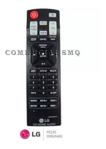 Controle Original Som LG Hi Fi System Akb73655701 Beat Tempo