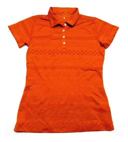 Chomba Golf Nike Mujer Talle S Color Cobre
