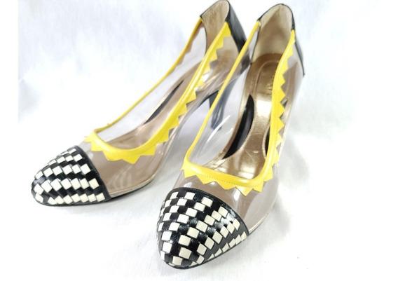 Sapato Feminino Masqué Scarpin Feito A Mão Nº 36 Usado