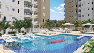 Entrada R$ 48.000,00 + Saldo Super Facilitado, Use Seu Fgts, Apartamento 2 Dormitórios Com Suíte A Partir De R$ 240 Mil - Ap0972