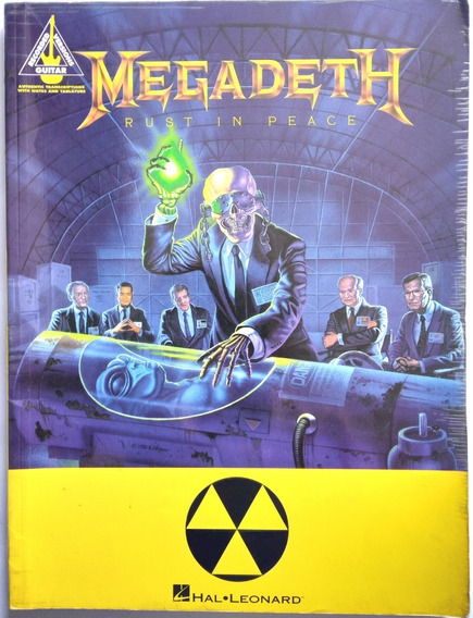 Songbook Megadeth - Rust In Peace (guitar Recorded Version)