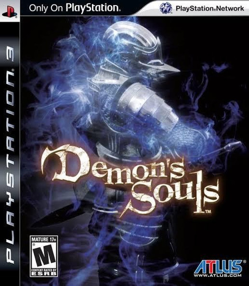 Jogo Demons Souls - Ps3 - Mídia Física - Novo Lacrado