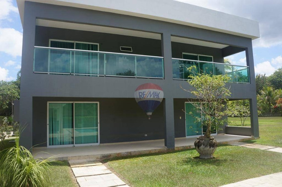 Casa Com 3 Dormitórios À Venda, 377 M² Por R$ 950.000 - Aldeia - Paudalho/pe - Ca0326