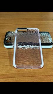 Funda Tipo Diamante Reforzada Para iPhone 6/7/8 Y 6/7/8 Plus