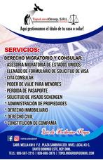 Asesorias Y Llenado De Formulario Visa Americana