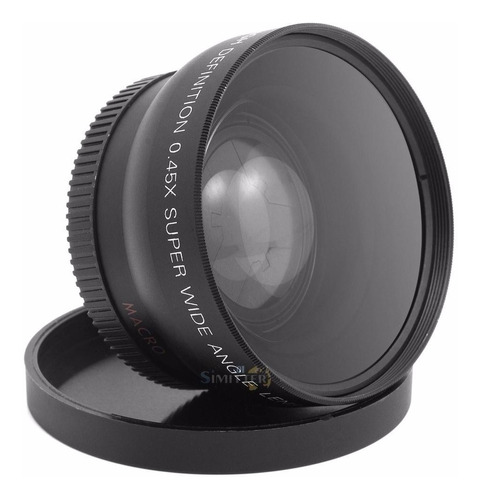 Lente Grande Angular Wide 0.45x 52mm + Macro Universal