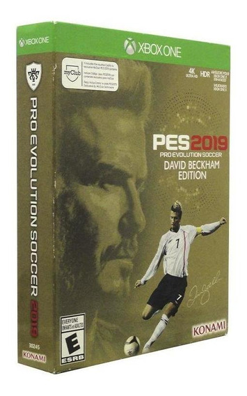 Pro Evolution Soccer 2019 David Backham Edition Xbox One