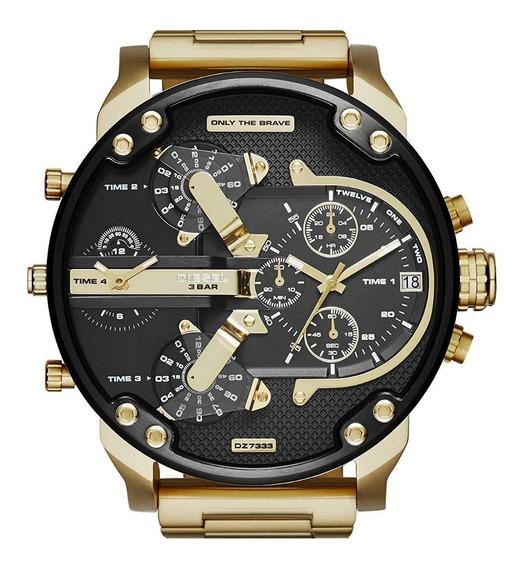 Relógio Diesel Mr. Daddy 2.0 Dz7333 + Nf + Garantia 2 Anos