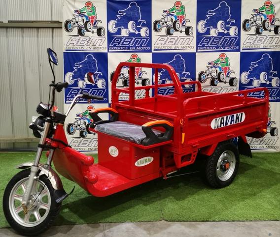 Triciclo Electrico Con Pick Up Modelo Grande