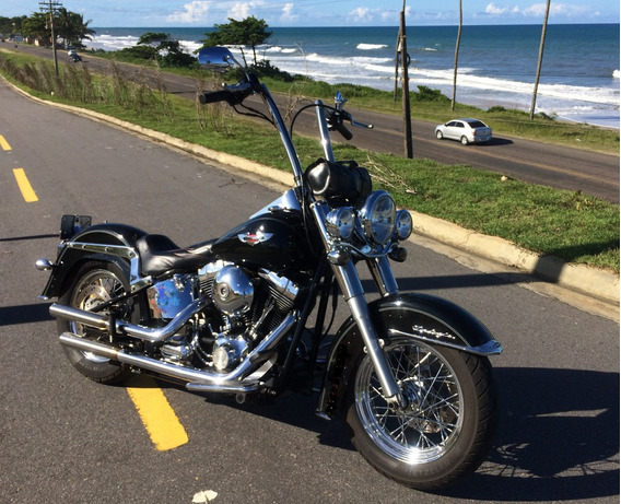 Harley-davidson Deluxe Flstn 2010 1600cc !!!