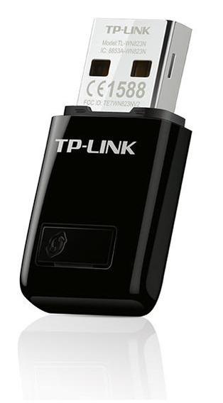 Mini Adaptador Usb Inalámbrico Wifi 300 Mb Tplink Tl-wn823n