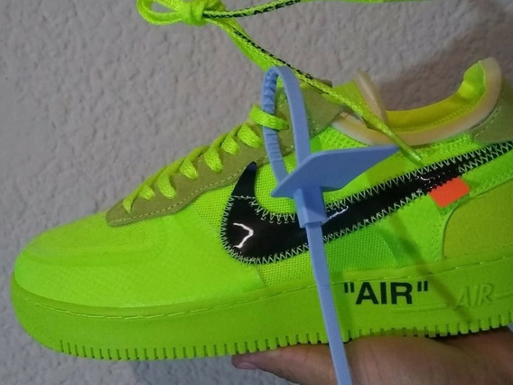 Tenis Air Force Off White Volt