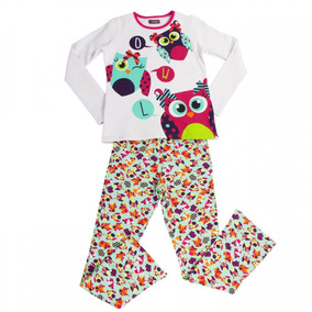 587d1f0a752eb0 Pijama Longo Infantil Menina Puket Peluciado 30601078