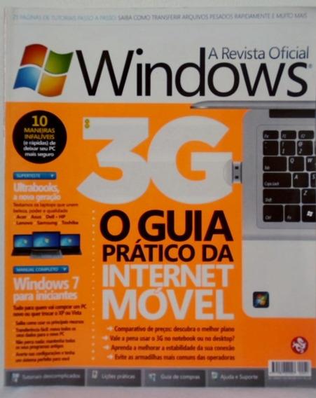 Revista Oficial Do Windows Nº 57 Guia Prático Internet 3g