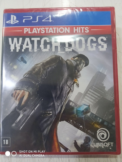 Jogo Watch Dogs - Ps4 Midia Física Novo Português