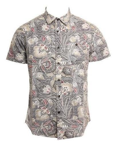 Camisa Hombre Vissla Mongos Blk Original Envío Gratis