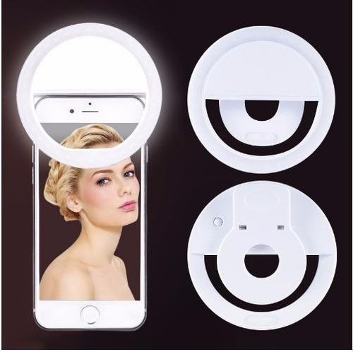 Aro De Luz Led Para Selfies Celular Selfie Ring Light Navida