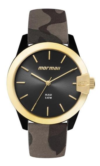 Relógio Mormaii Mo2035ik/8p Mo2035ik8p Mopc21jah 8p Preto Dourado