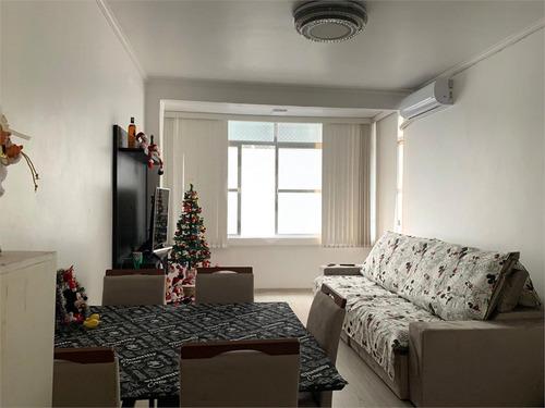 Imagem 1 de 17 de Lindo Apartamento A Venda No Bairro José Menino Em Santos - Reo538063