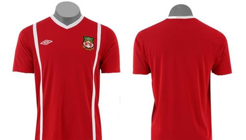 Camiseta Umbro Wrexham Exclusiva Nueva Con Etiqueta
