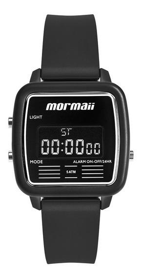 Relógio Mormaii Feminino Vintage Mojh02av/8p Preto Digital