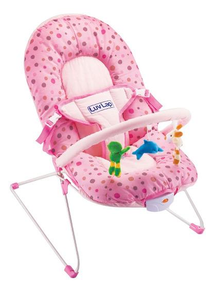 Cadeira Bebe Balanço Descanso Vibra E Toca Importway Bw-045