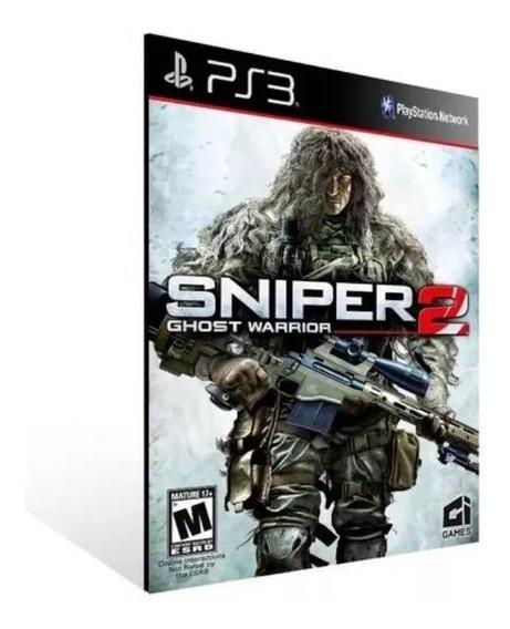 Sniper Ghost Warrior 2 Ps3 Psn Envio Rápido Comprar