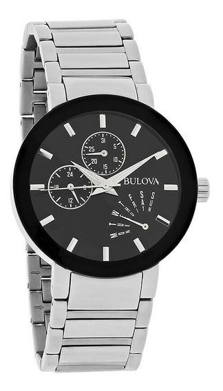 Lindo Relógio Masculino Bulova Wb22195t / 96c105 - Raridade!